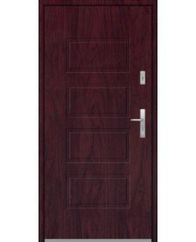 Fargo 13 - front simple entry door