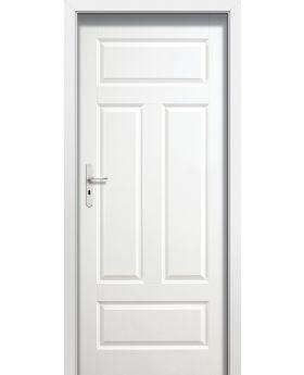 Plano FIO - single white internal door