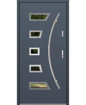 Fargo 23A - stainless steel front door
