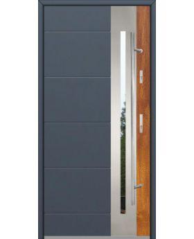 Fargo 26 DUO - stainless steel front door