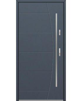 Fargo 26G - stainless steel front door