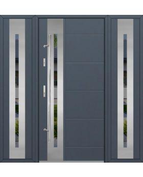 Fargo 26H T - solid entrance door + 2 side panels