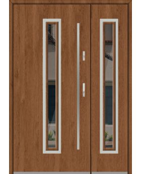 Fargo 29 DB - house front door with side panel