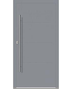 LIM W312 - modern aluminium front door