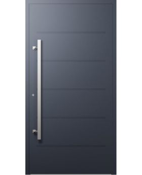 LIM W313 - modern aluminium front door