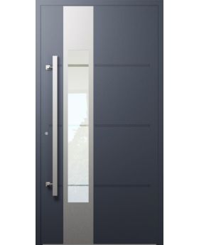 LIM W321- modern aluminium front door