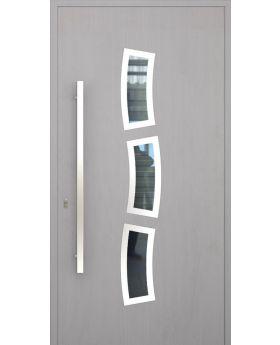 LIM W334 - modern aluminium front door