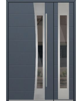 Fargo 37 DB - stainless steel front door with side panel