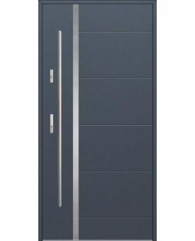 Fargo 41 - modern solid front door