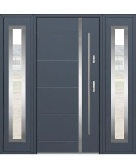 Fargo 41T - front door with two side panels