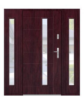 Fargo 42T - modern front door + 2 side panels