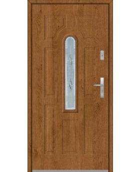 Fargo 5 - front entry solid door
