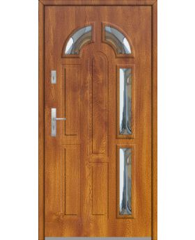 Fargo 9 - stainless steel front doors with glass