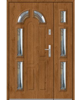 Fargo 9DB - front doors with side panel
