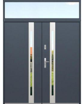 custom configuration - Fargo double door with top sidelight