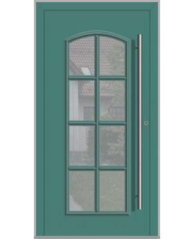 LIM RAPSODIA-T - classic aluminium front door with glass