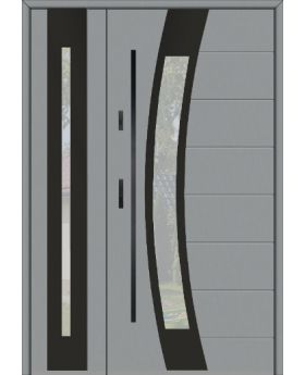 Fargo 38 DB - front door with one side panel