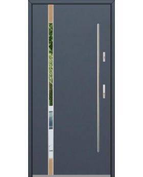 Fargo Fi04C - future inox - silver front door