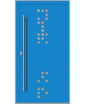 LIM Digital-A - front entrance aluminium door