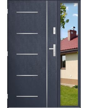 custom configuration - STA door with right sidelight (view from the outside)