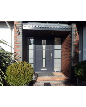custom configuration - Fargo door with left and right sidelights