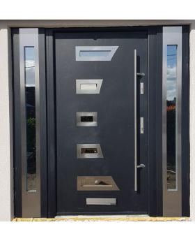 Fargo 23A T - stainless steel door with two side panels