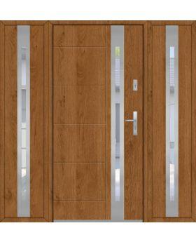 Fargo 25C T - front door design with two side panels