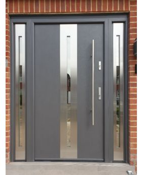 Fargo 26A T - front door with two side panels