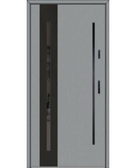 Fargo 26B - stainless steel front door