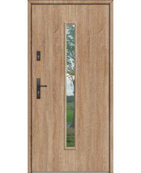 Fargo 29A - steel solid front door