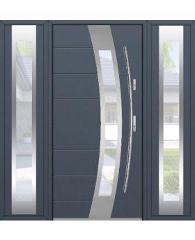 Fargo 38T - front door with two side panels