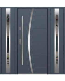 Fargo 40 T - front door with two side panels