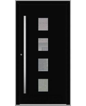 LIM Quatro - aluminium front doors for homes