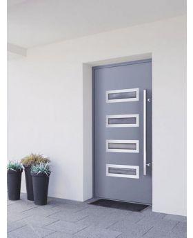 LIM W344 - modern aluminum front door