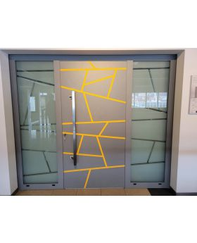 LIM W360 - modern aluminium front door