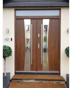 Fargo 37 double - double front entry door / french doors