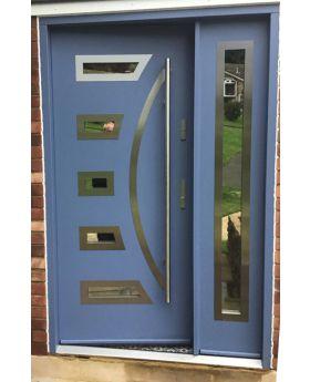 Fargo 23 DB - composite front door with one side panel