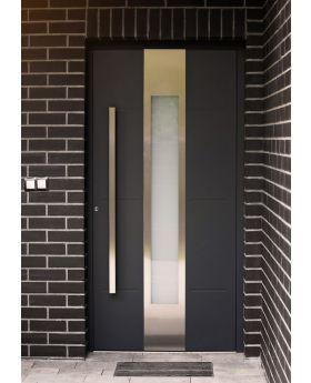 LIM W322 - modern aluminium front door