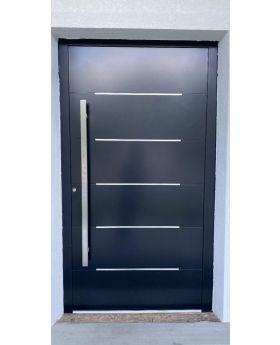 LIM Integra-inox - modern aluminium front door