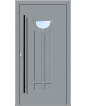 LIM FILAR-T - aluminium front doors for homes