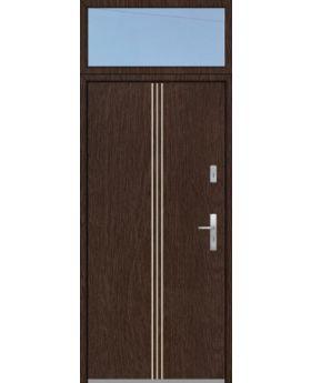 custom configuration - Fargo door with top glass panel